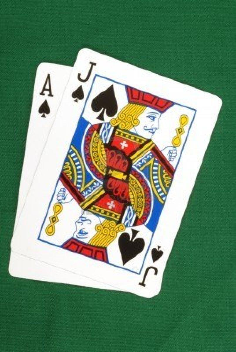 Blackjack: autour des différentes actions
